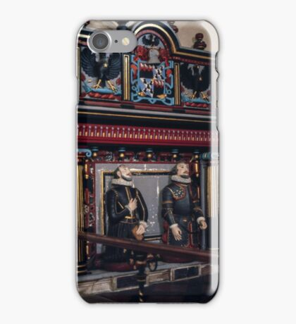 Lovelace Tomb St Mary the Virgin Hurley England 19840512 0015 iPhone Case/Skin