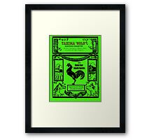 YAKIMA GOLD Cannabis Cigarettes...chicken flavored! Framed Print