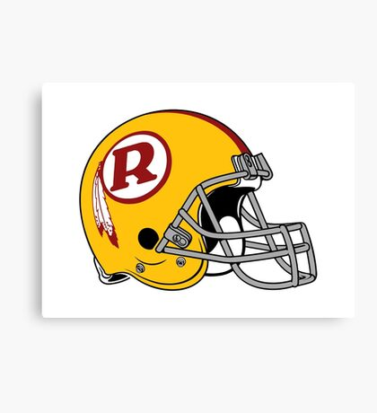 the redskins Canvas Print