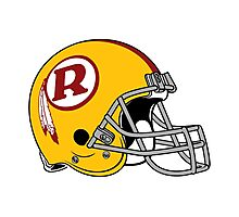 the redskins Photographic Print