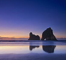 Archway Islands, Wharariki Beach by Images Abound | Neil Protheroe