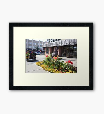 In Anchorage Framed Print