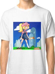 Super Princess Peach Classic T-Shirt
