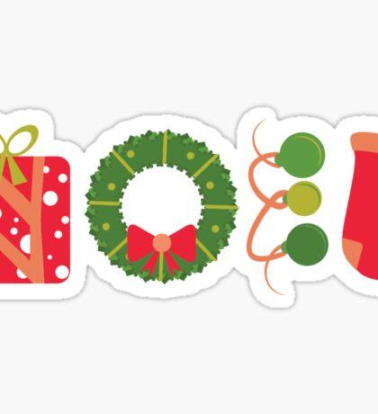 Noel #2 Sticker