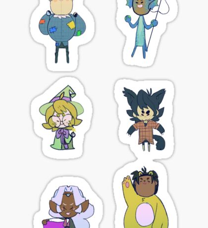Voltron Halloween Sticker - Set Sticker