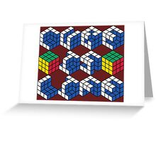 Cube is Life Greeting Card