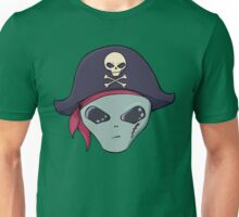 Alien Pirate Unisex T-Shirt