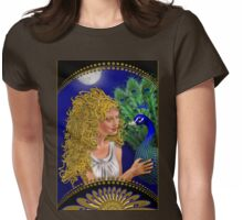 Moon Beams Womens Fitted T-Shirt