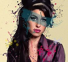 Amy Winehouse by Everett Day