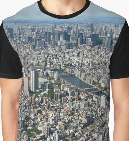 Tokyo By Day Graphic T-Shirt