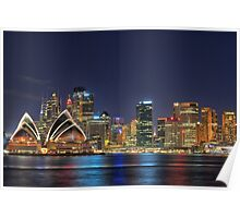 Downtown Sydney Poster