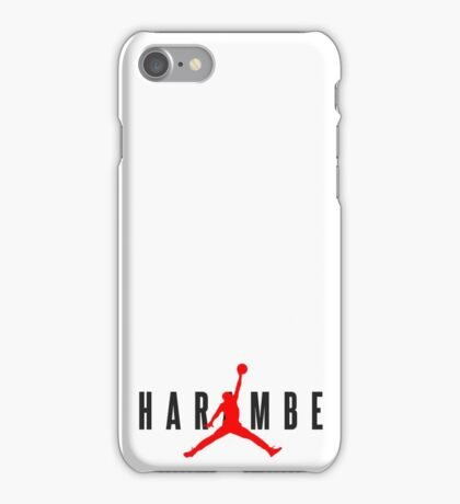 Harambe Jordan iPhone Case/Skin
