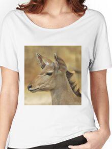 Kudu Bull Calf - Innocent Beauty Women's Relaxed Fit T-Shirt
