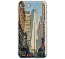One World Trade Center in the making iPhone Case/Skin