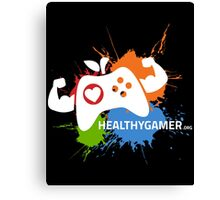 Healthy Gamer 1st Edition Canvas Print