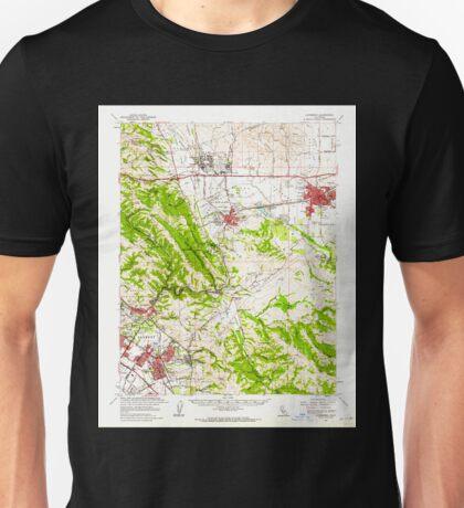 USGS TOPO Map California CA Livermore 298030 1961 62500 geo Unisex T-Shirt