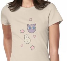 Sailor Moon R inspired Chibusa Luna-P Bedspread Blanket Print Womens Fitted T-Shirt
