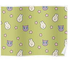 Sailor Moon R inspired Chibusa Luna-P Bedspread Blanket Print Poster