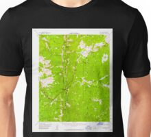USGS TOPO Map California CA Kern Peak 297882 1956 62500 geo Unisex T-Shirt