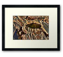 Rock Form 76 Framed Print