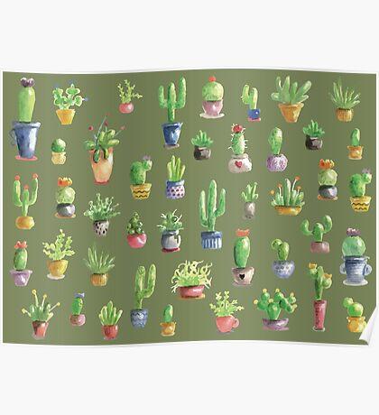 Mein kleiner grüner Kaktus Poster