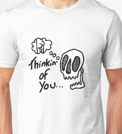 8bit thinking of u  Unisex T-Shirt
