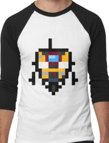 Pixel Claptrap Men's Baseball ¾ T-Shirt