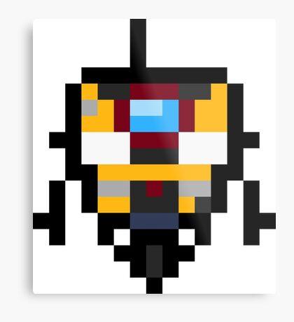 Pixel Claptrap Metal Print