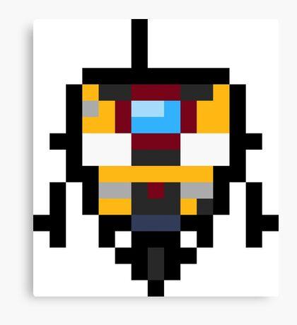 Pixel Claptrap Canvas Print