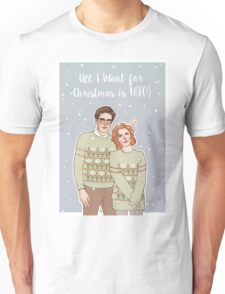 all i want for xmas is u(fo) Unisex T-Shirt