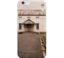 The back door iPhone Case/Skin