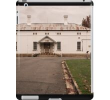 The back door iPad Case/Skin