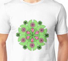 DejaLulu Pond Lotus Mandala Unisex T-Shirt