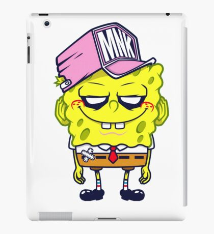 Spongebob mnk iPad Case/Skin