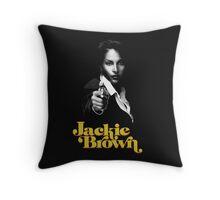 JACKIE BROWN -QUENTIN TARANTINO- Throw Pillow