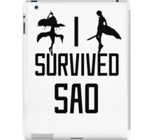 I Survived SAO V2 iPad Case/Skin