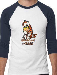 Calvin&Hobbes funny T-shirt Men's Baseball ¾ T-Shirt