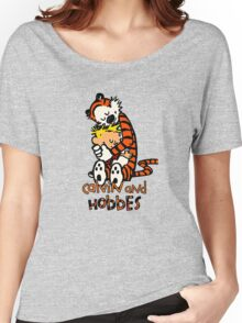 Calvin&Hobbes funny T-shirt Women's Relaxed Fit T-Shirt