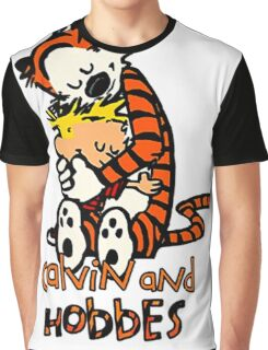 Calvin&Hobbes funny T-shirt Graphic T-Shirt