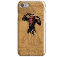 Vitruvian Spiderman iPhone Case/Skin