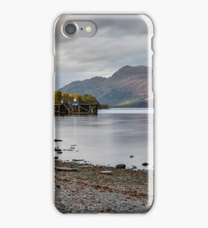 Loch Lomond in Luss iPhone Case/Skin