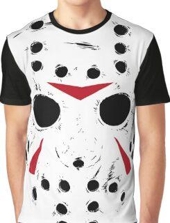Jason Voorhees Mask Graphic T-Shirt