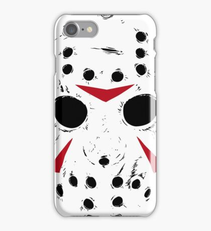 Jason Voorhees Mask iPhone Case/Skin