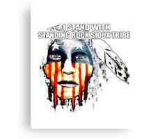 RockRockRock T_shirt, Standing ROCk Canvas Print