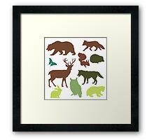 Wild Animals Framed Print