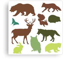 Wild Animals Canvas Print