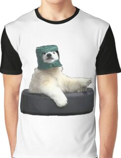 Bucket bear - Polar Bear meme Graphic T-Shirt