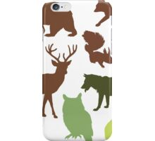 Wild Animals iPhone Case/Skin