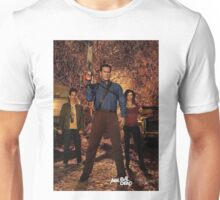 hunt with ash and team  Unisex T-Shirt