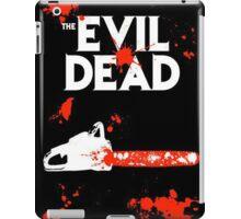 chainsaw evil dead  iPad Case/Skin